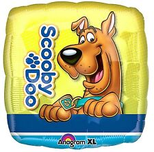 Scooby Doo Square Foil Balloon Party Decoration Round 43cm