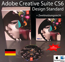 Adobe Creative Suite CS6 Design Standard Box + CD 2 Mac Vollversion (Bundle)