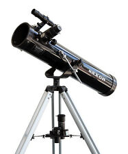 Saxon F767 AZ Newtonian Reflector Telescope, for kids young astronomers