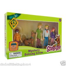 New in box Scooby Doo Mystery Solving Crew 5 articulated Action Figures Toy