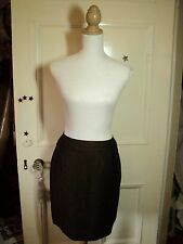 country road linen brown skirt NWT  8