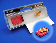 Noch Lovers in Action  with bed 15960 HO Scale (suit OO Also)