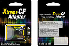HIGH SPEED SD SDHC SDXC TO STANDARD COMPACT FLASH CF TYPE II MEMORY ADAPTER UDMA