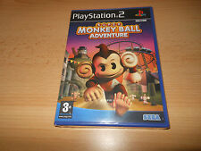 Super Monkey Ball Adventure (Monkeyball) - PlayStation 2 PS2 - New  Sealed