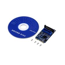 Mini PCI-Express PCI-E to USB 3.0 19pin Header Card Adapter For Win 7 8 AQ