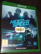 NEED FOR SPEED XBOX ONE XB1 NEW SEALED