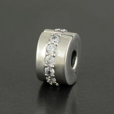 Authentic Genuine Pandora Sterling Silver Shining Path Clip - 791972CZ