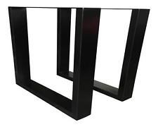 Tischgestell Neu Stahl schwarz gepulvert  TUG 305 Tischuntergestell Tischkufe