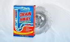 Drain Away Unblocker Remove Unblock Blockages Sinks Showers Baths Kitchen Duzzit