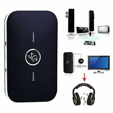 Wireless Bluetooth 2 In 1 Transmitter Receiver A2DP Stereo Audio Music Adapter