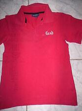 """Cooles Polo-Shirt """"H&M"""", rot m. Motiv, Baumwolle, neuw. Gr. 140/146"""