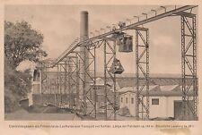 ATG Leipzig-Grosszschocher - seltene Firmen-Werbekarte von 1923 - gelaufen