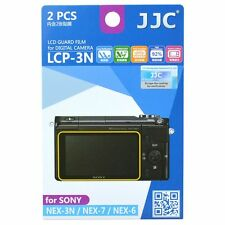 JJC LCP-3N LCD Screen Protector Guard Film Cover for Sony A6300,A6000,NEX-3N/7/6