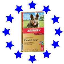 Advantix Bayer for  Large Dogs 10-25kg  (red) - 6 Pack