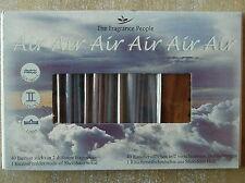 """Räucherstäbchen Set """"Luft"""", 40 Stäbchen, 2 Düfte mit Halter aus Sheesam Holz"""