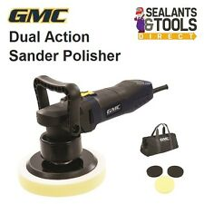 GMC Dual Action Rotary Random Orbital Sander Buffer Polisher Machine Car 150mm