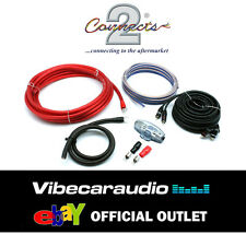 Connects2 Pro Zero 3600 Watts 0 AWG Gauge Power Ground RCA Amplifier Wiring Kit