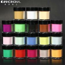 18 Colors Large Jumbo Size 3D Acrylic Nail Art Dust Powder Decoration For Tips