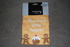 "LOVELY CHILDRENS  ""MUMMYS LITTLE HELPER"" COOKERY APRON********BNWOT****NEW****"