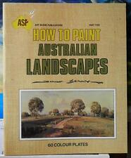 """""""HOW TO PAINT AUSTRALIAN LANDSCAPES"""" Part 2 by DOUG SEALY Special Sale!!!"""