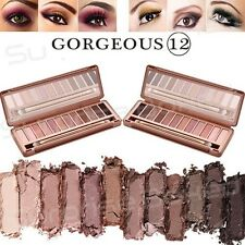 NEW 12 COLOURS MAKE UP URBAN NEUTRAL EYESHADOW PALETTE NUDE EYE SHADOW NAKE