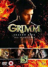 Grimm: Season Series 5 DVD New & Sealed R4