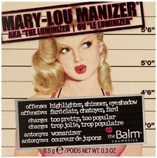 0.3 oz The Balm Mary Lou Manizer Highlighter Face & Eyes powder Shimmer & Shadow