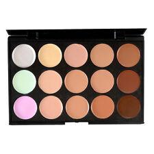 New 15 Colors Concealer Contour Palette Kit  Brush Face Makeup Cream