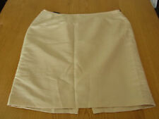 BNWT Ladies Calvin Klein Lined Gold Evening Business Office Skirt Size1X (16)