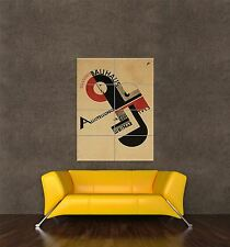 GIANT PRINT POSTER VINTAGE ADVERT BAUHAUS WEIMAR ICON GERMANY PDC075