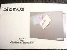 Blomus Design Schlüsselkasten Velio 65365  grau  - exklusiv,  inkl. 6 Magnete