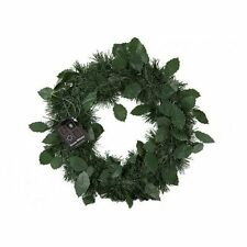 Classic Vintage Style Christmas Green Wreath 24cm Xmas Decoration