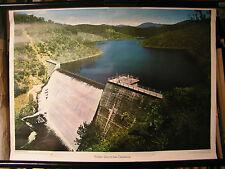 Schulwandbild Wandbild Bild Cotter-Damm Staudamm bei Canberra Australien 71x51cm