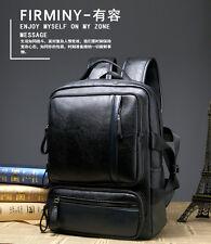 New Vintage Men's Leather Backpack Shoulder Messenger Bag Briefcase Laptop bags
