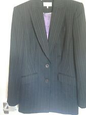 Womans Pin Striped Coat by Austin Reed.Size 12 tailored.fully lined