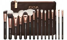 15Pcs Zoeva Rose Gold Makeup Brush Set Cosmetics Eye Foundation Kit Bag Case Hot