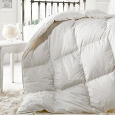 """""""25% DOWN"""" 15 Tog DOUBLE Goose Feather WINTER WARM Duvet Quilt Bedding"""