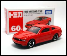 TOMICA #60 FORD MUSTANG GT V8 1/67 TOMY DIECAST CAR 2014 JULY New Model RED