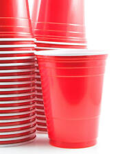 1000 x Red American Party Cups 16oz Beer Pong - Cheapest on Ebay [5055202125124]