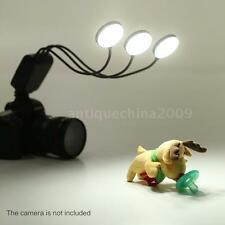 360°Flexible Macro Flash Light Speedlite for Canon Nikon Pentax DSLR Camera S0U9