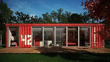 20FT/40FT custom shipping container house home office cabin 415USD/square meter