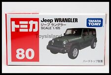 TOMICA #80 JEEP WRANGLER 1/65 TOMY 2015 August NEW MODEL DIECAST CAR