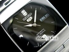 SEIKO 5 DRESS LADIES AUTOMATIC WATCH SNY005J1 BLACK DIAL MADE IN JAPAN SNY005