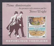 Flugzeuge  Togo  Block 124  ** (mnh)