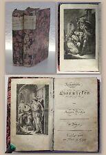 Becker Romantische Chronicken 2 Bde 1794/1795 Roman mit gest. Frontispiz rara xz