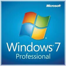 Microsoft Windows 7 Professional 64 Bit DVD + Lizenzkey Win 7 Pro OEM Deutsch