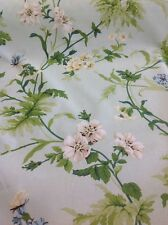 Sanderson Primrose Hill Curtain Fabric By The Metre In Eggshell And Cream