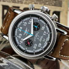 PILOT  Poljot Chronograph 3133 MiG-15 Russian mechanical Aviator's watch