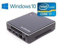 Gigabyte® Intel i7 PC mit 8GB RAM, 240GB SSD, USB 3.0, Windows 10 Pro, HDMI