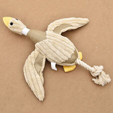 Funny Pet Puppy Chew Squeaker Squeaky Plush Sound Duck Toy For Dog Training Play